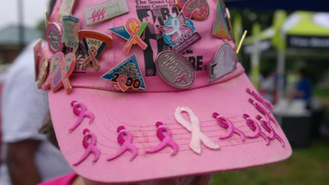 Thousands gathered at Meredith College in Raleigh Saturday morning for the Susan G. Komen Race for the Cure.