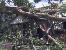 Moore County storm damage