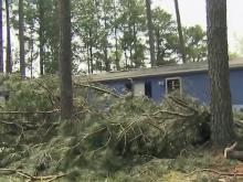 Cleanup begins following Tuesday's severe storms