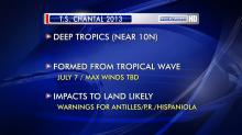 "IMAGES: Chantal and a bit of ""C"" storm history"