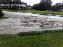 Flooding in Angier