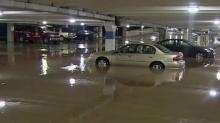 Flooding, lightning fires reported across Triangle