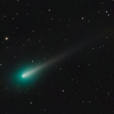 Comet ISON as seen through the University of Arizona's 32-inch Schulman Telescope in early October. (Credit: Adam Block/Mount Lemmon SkyCenter)