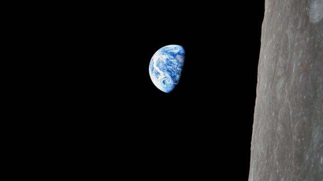 Earthrise, as seen by the Apollo 8 astronauts.(NASA/Anders)
