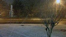 IMAGES: Flurries fall across parts of central NC