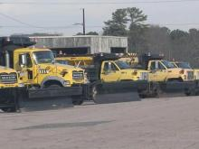 Roads crews prepared for icy roads