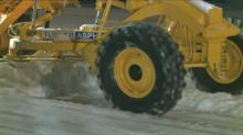 Plows keep busy through the night