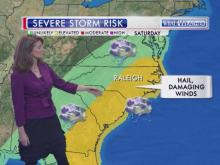 Severe weather threat, Saturday, March 28, 2014