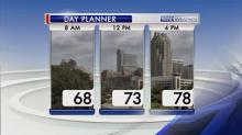 IMAGES: Showers possible Thursday as front approaches; severe threat abates