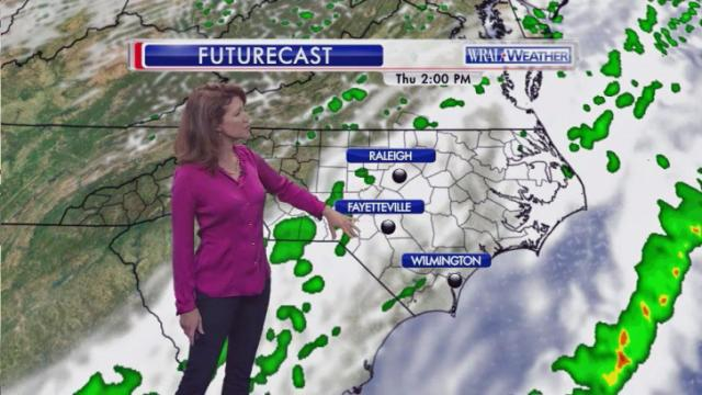 Futurecast, 2 p.m., Thursday, May 1, 2014