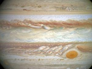 The Hubble Space Telescope has recorded shrinkage of Jupiter's Great Red Spot over 20 years (Image:  NASA/ESA)