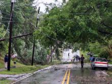 Triangle hit with storm, flood damage