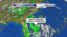 IMAGES: Storm could become tropical depression, head toward NC