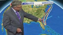 IMAGES: First tropical depression forms, could hit NC coast Thursday
