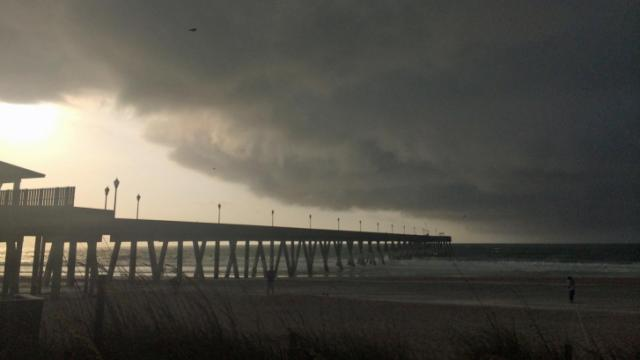 Hurricane Arthur; Wrightsville Beach
