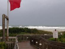 The first tropical depression of the Atlantic hurricane season formed off the Florida coast late Monday night, and it was upgraded to a Category 1 hurricane early Thursday morning.