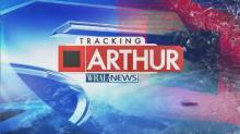 Hurricane Arthur makes landfall