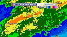 IMAGES: Rain sets daily record at RDU