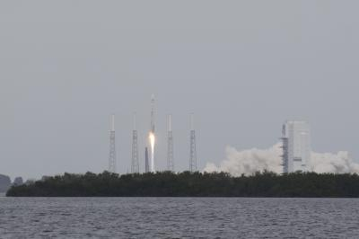 MAVEN launch from a seat along the Banana River (Photo by Tony Rice)