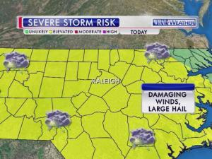 Severe weather threat, Oct. 14, 2014