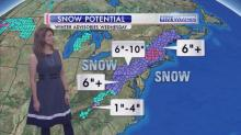 IMAGES: Holiday forecast: damp, cooler weather here; snow in mountains