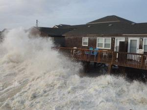 Jake Dempsey took these photos at high tide in Buxton on Dec. 8, 2014.