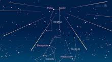 IMAGES: Geminid meteor shower peaks Saturday evening