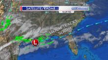 IMAGES: Weekend rain less likely as low pressure maintains southerly track