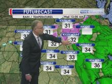 WRAL meteorologists lay out the timing and track of an ice storm expected overnight and into Jan. 14, 2015.