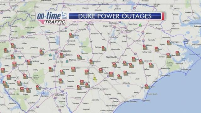 Indiana And Michigan Power Outage Map.Duke Energy Progress Gives Update On Power Outages Wral Com