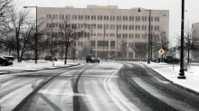 Snow in Fayetteville: Feb. 24, 2015