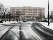 Snow flies across Fayetteville, closing schools and Fort Bragg