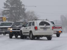 Gardner: Roads could clear by afternoon