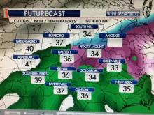 Gardner: Icy spots possible overnight into Friday