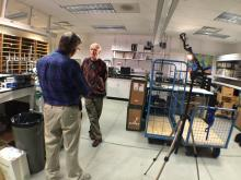WRAL's Greg Fishel talks to Pieter Tans, who leads the Carbon Cycle Greenhouse Gases Group in the Global Monitoring Division of NOAA's Earth System Research Laboratory in Boulder, Colorado.