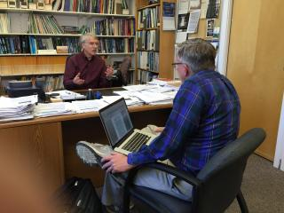 WRAL's Greg Fishel talks with Dr. Kevin E. Trenberth, Distinguished Senior Scientist in the Climate Analysis Section at the National Center for Atmospheric Research.