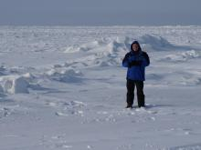 For a cold and snow lover like Greg Fishel, a trip to Barrow, Alaska, is a dream come true.