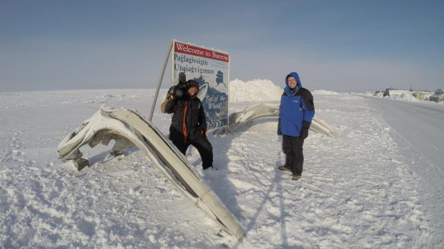 WRAL Chief Meteorologist Greg Fishel and photographer Richard Adkins traveled to Point Barrow, Alaska, on a quest for information about climate change.