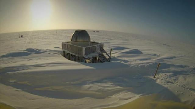 Climate observatory in Barrow, Alaska