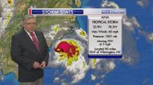 Storm stats: Ana