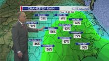 Chance of rain - Sunday 10 a.m.