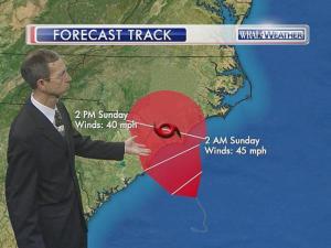 Ana forecast track