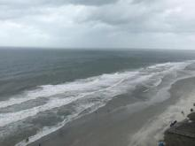 Warning: Parts of Myrtle Beach under swim advisory due to
