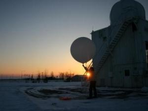 Weather balloons are released by the weather service twice a day, seven days a week (Credit: NOAA)