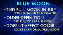 IMAGES: Friday's 'blue moon' probably won't be