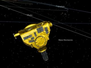 The New Horizons spacecraft will remain oriented toward Earth for months as it downloads data gathered during the flyby of Pluto