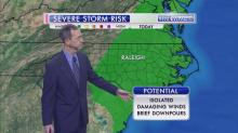 IMAGES: Saturday storms could include heavy rain, strong winds