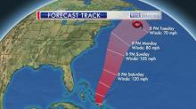 IMAGES:  Hurricane Joaquin's track shifts farther east