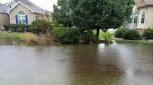 Rain in Brunswick County