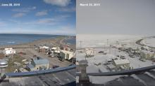 IMAGES: Sun sets on Barrow, Alaska, for 2 months of polar night